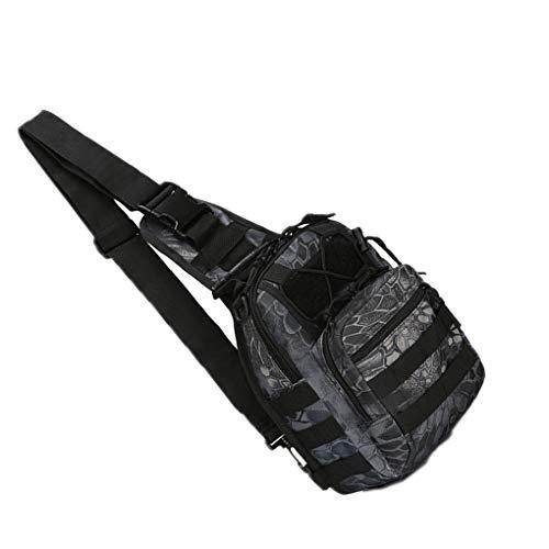 LEVEL GREATMänner im Freien wandernden REIT Chest Messenger Bag Tasche REIT diagonale Tragbare Umhängetasche Bergsteigen Umhängetasche