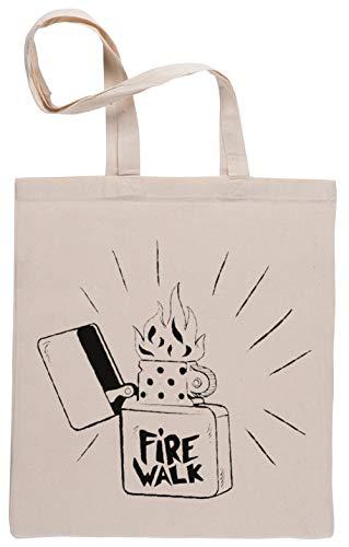 Firewalk Lighter Bolsa De Compras Shopping Bag Beige