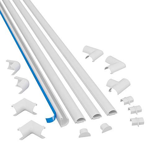 D-Line D-Line 2010KIT001 Selbstklebender, Runder Weißer Bild