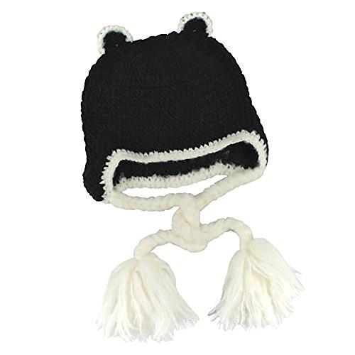 Sugarhill Boutique gebreide muts Feline Groovy HAT Black