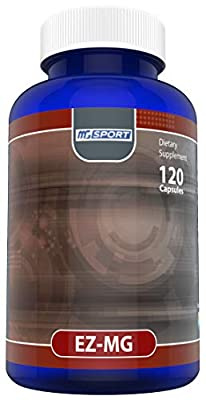 ZMG - Zinc Methionine & Aspartate - High Absorption Mg - Supports Sleep, Energy and Muscle Strength - with Vitamin B6, E and Folic Acid - 120 Ct. 60 Servings.