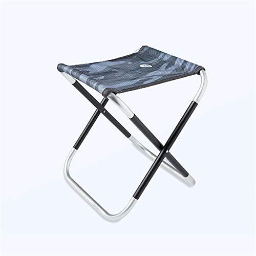 Voigoo Chaise de pêche Pliable en Plein air, en Alliage d aluminium Ultra léger Portable de Pique-Nique Camping Chaise Pliante
