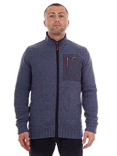 Brunotti Herren Yawl Knit Jacke, Night Blue, XL