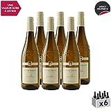 Vin de Savoie Chignin Bergeron Blanc 2018 - Philippe et Sylvain Ravier - Vin AOC Blanc de Savoie - Bugey - Cépage Roussanne - Lot de 6x75cl