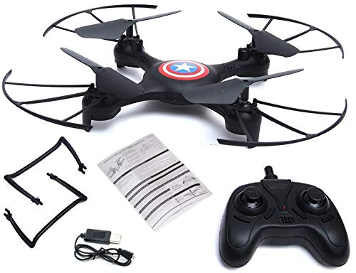 SUPER TOY Remote Control 2.4GHz Cameraless Drone for Kids with Altitude Hold, Headless Mode and 360 Degree Flip Action