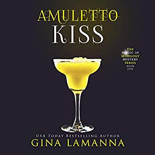 Amuletto Kiss audiobook cover art