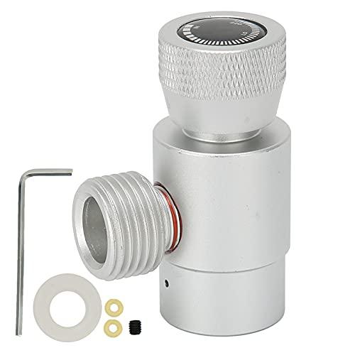 Mini regulador de CO2, kit de conector adaptador de recarga de CO2 CGA320 / TR21-4 para tanques de paintball SodaStream accesorios ASA