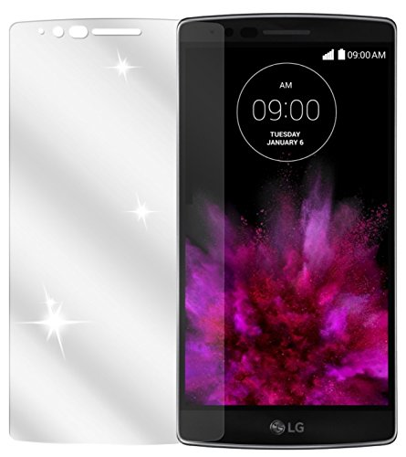 dipos I 2X Schutzfolie klar kompatibel mit LG G Flex 2 Folie Bildschirmschutzfolie