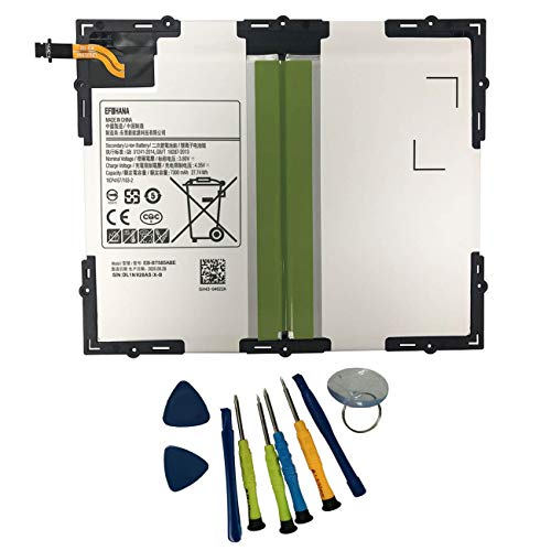 efohana EB-BT585ABE Laptop Battery Replacement for Samsung EB-BT585ABA EB-BT585ABE GH43-04628A Galaxy Tab A 10.1 2016 SM-T580 SM-T585 Series Notebook 3.8V 27.74Wh/7300mAh