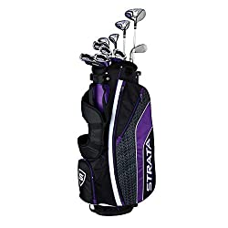 commercial Callaway Strata Ultimate Complete Golf Kit (16 pieces, right hand, graphite) ping golf clubs