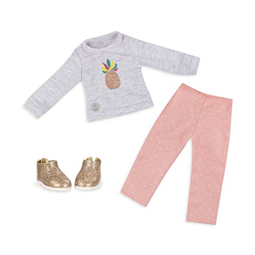 """Glitter Girls by Battat - Dressed To Dazzle Darling Top & Pant Regular Outfit - 14"""" Doll Clothes & Accessories For Girls Age 3 & Up – Children'S Toys"""