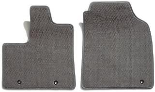 Premier Custom Fit 2-piece Front Carpet Floor Mats for Toyota Sienna (Premium Nylon, Gray)