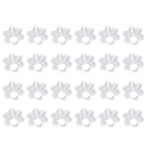 Hemoton 200 Stks Plastic Ijs Dessert Kommen Clear Kommen Voor Yoghurt Dessert Wegwerp Kommen Voor Party (Transparant)