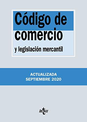 Código de Comercio: y legislación mercantil