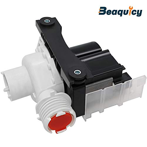 137221600 Washer Water Drain Pump & Motor Assembly (110V-127V) by Beaquicy - Replacement for Electrolux Kenmore Tappan White-Westinghouse Crosley Gibson Washing Machine