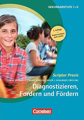 Scriptor Praxis: Diagnostizieren, Fordern und Fördern (5., überarbeitete Auflage): Buch mit Kopiervorlagen über Webcode