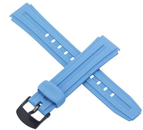Cinturino originale Casio per orologio W-211-2BVW W 211 2BVW Azzurro 10268502