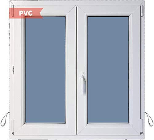 Ventanastock Ventana PVC Practicable Oscilobatiente 2 hojas 1000 ancho x 1200 alto