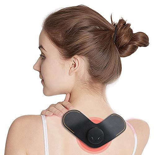 Drahtlose Elektrische Massage Patch, USB Lade Schulter Nackenmassagegerät Massage Pad, Elektromagnetischer Impuls Mini Cervical Massager Körpermuskulatur Schmerzlinderung