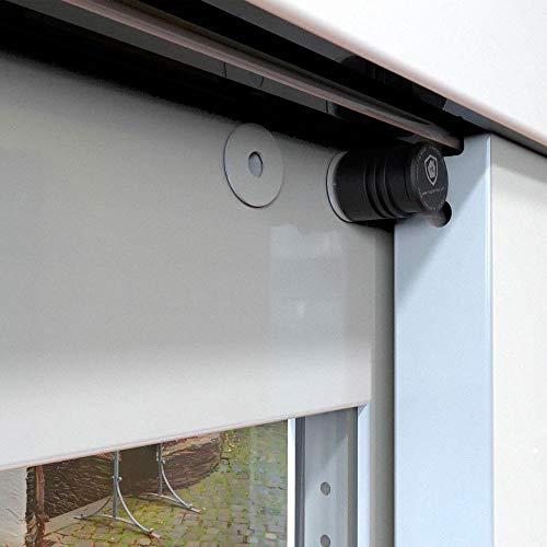 Magnetolock V2.0 (Blanco).Bloqueo de seguridad para ventanas y puertas correderas. Bloqueo con ventana cerrada y abierta. Ajustable posición de ventilación para seguridad niños, bebé y mascotas.