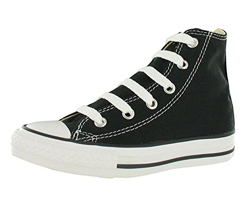 Converse Unisex-Kinder Ctas-Hi-Black-Youth Hohe Sneakers, schwarz, 28 EU