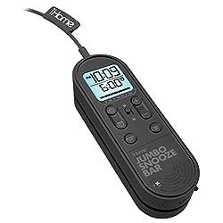 iHome IM14BC Jumbo Snooze Bar Alarm Clock with USB Charging
