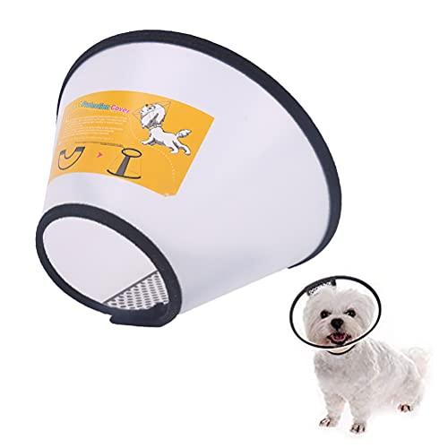 1 collar de protección para mascotas de recuperación de cuello isabelino para la salud de mascotas círculo médico para evitar que los gatos y perros se laman o muerdan