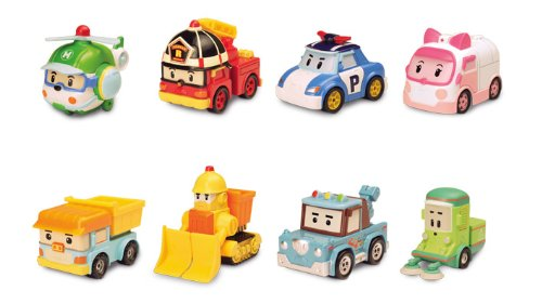 Ouaps 83151 - Robocar Poli, coche en miniatura (1 unidad, surtido)