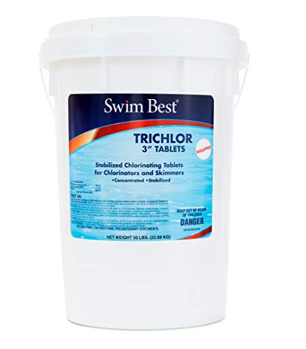 Swim Best U009050050 Swimming Pool Chlorine, 50 lbs