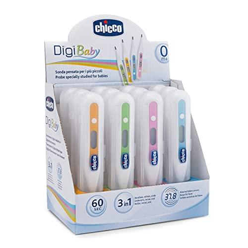 Chicco Baby - Termómetro digital axilar, rectal y anal