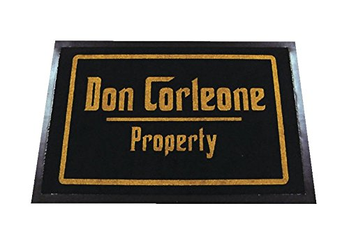Don Corleone Property - Felpudo de polipropileno 🔥