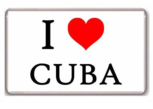 I Love Cuba / Foto / Kühlschrank / Magnet.