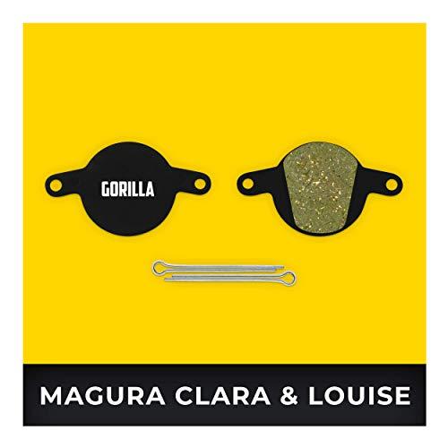 Magura Pastillas de Freno Clara 2001-2002 Louise 2002-2006 & Louise FR de 2012 Type 3 para Freno de Disco Bicicleta I Sinterizado I Durable & Ajuste Pastillas de Freno Bicicleta