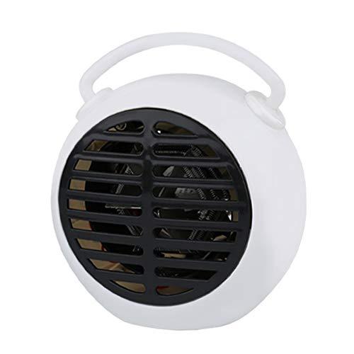 BXzhiri Personal Mini Space Heater Fan, New Type Portable Alarm Bell Type Heater Office Desktop Silent Heater, Mini Heater, Desktop Heater
