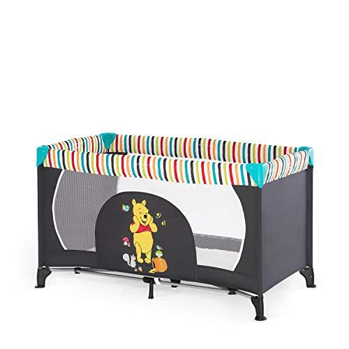 Hauck Disney Lit Parapluie Dream N Play / pour Bébés et Enfants de la Naissance jusqu'à 15 kg / 120 x 60 cm / Léger et Stable / Pliable Compact / Sac de Transport Inclus / Winnie l'Ourson
