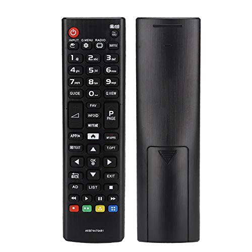 ABS Control Remoto de TV de Reemplazo Duradero para LG AKB74475481 Soporte 8M Distancia Remota
