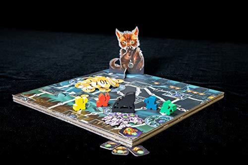 Renegade Game Studios RGS00841 Clank Expeditions Gold & Silk, Juego de mesa, Multicolor