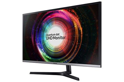 Samsung Business UH850 Series 31.5 inch 4K QHD 3840x2160 QLED Desktop Monitor for Business, AMD FreeSync, DisplayPort, USB Hub, 3-Year Warranty (U32H850UMN)