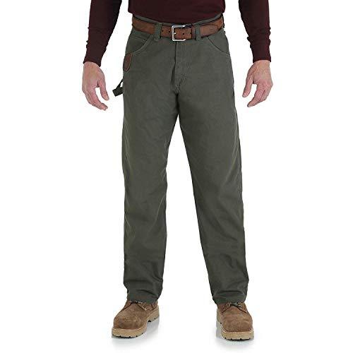 Wrangler Riggs Workwear Men's Ripstop Carpenter Jean,Loden,30X32