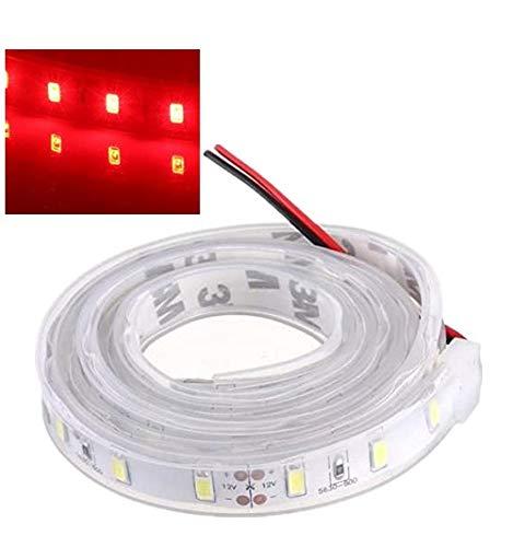 MASUNN 1M 5630 SMD LED Silicon Strip Luce Rosso Impermeabile 12V