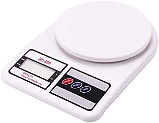RKINC Electronic Kitchen Digital Weighing Scale, Multipurpose (White, 10 Kg)