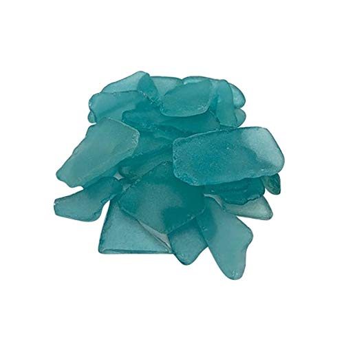 TAKOO El árbol de Navidad de la Playa del Vidrio del mar de DIY adorna el Bulto de la Hoja del Material de Lijado