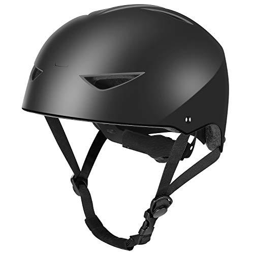 Boys Bike Helmet Skateboard Helmet - WayEee Adjustable Cycling Helmet for Kids Youth Adults, Safety Multi-Sport Bicycle Scooter BMX Roller Skate Inline Skating Rollerblading Helmets