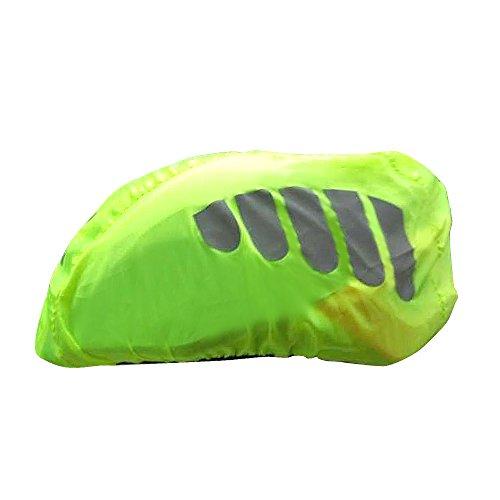 2win2buy Helmüberzug, Fahrrad Wasserdicht Helmregenüberzug Regenschutz Helmschutz mit Reflektierendem Aufdruck Wind & Sonne Schutz - 3