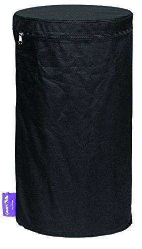 Mania Cocoon Abdeckhaube Cover für Propangasflaschen LPG, PVC schwarz