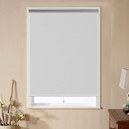 Window Shades for Home, Blackout Shades Cordless Blinds for Bedroom, Window Shade Roller Shades for Windows, White, 34'(W) x 72'(H) Window Coverings Shades Room Darkening Blinds