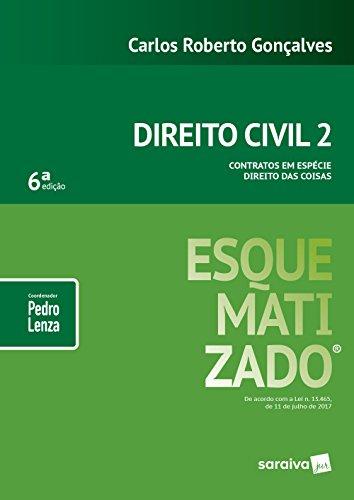 Direito Civil Esquematizado. Contratos em Espécie Direito das Coisas - Volume 2