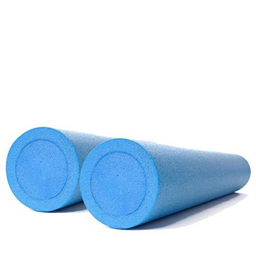Kawanyo 2er Set Pilatesrollen 90cm Massagerolle Faszientraining Fitness Rolle