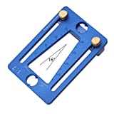 COODIO Dovetail Marking Gauge Adjustable Guide Marker Template 1:7 Aluminum Alloy for Woodworking
