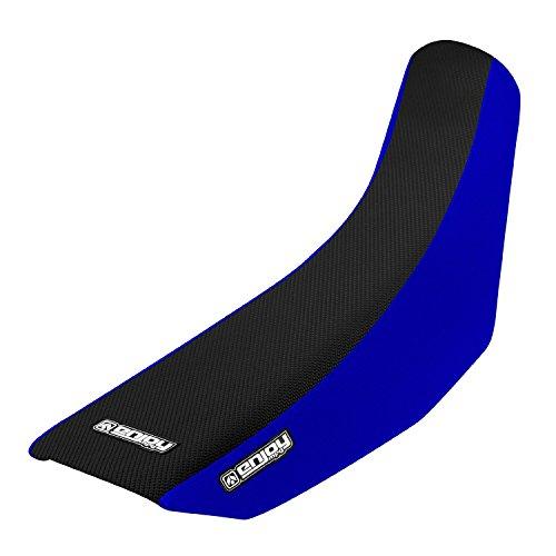 Enjoy MFG Housse de siège standard pour Yamaha 1993-2001 YZ 80 Côtés bleus avec dessus noir standard